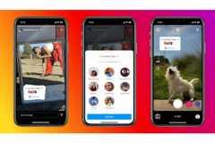Instagram uji coba stiker berbalas konten di Stories